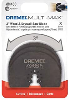 Dremel MM450B Multi-Max Wood Drywall Saw Blade, 3-Pack