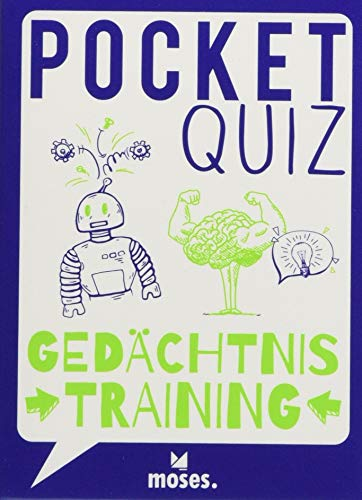 Pocket Quiz Gedächtnistraining | 50 Aufgaben für kluge Köpfe (Pocket Quiz / Ab 12 Jahre / Erwachsene)