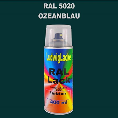 RAL 5020 OZEANBLAU Matt 400 ml 1K Spray