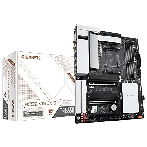 Gigabyte B550 Vision D-P (Rev. 1.0) AMD B550 Zócalo AM4 ATX
