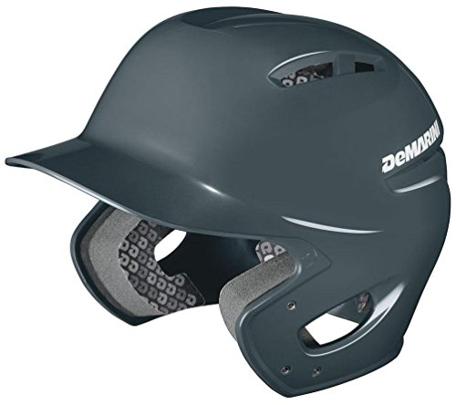 Wilson Sporting Goods DeMarini Paradox Protege Pro Batting Helmet, Charcoal, Small Medium
