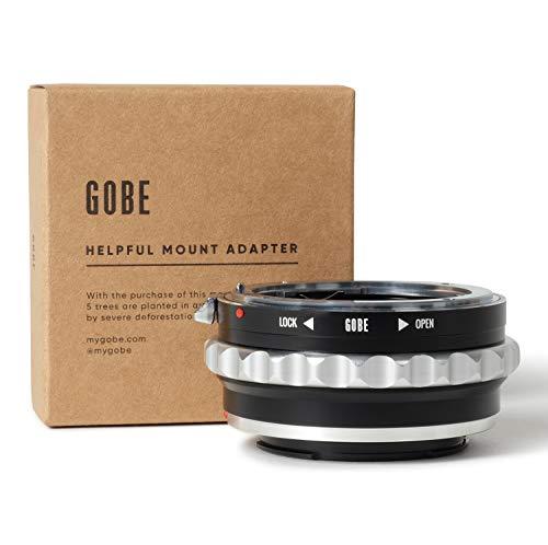 Gobe - Adaptador de Lente Compatible para Lentes Nikon F (G-