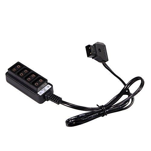 QKP Männliche D-B Typ Power Klapses Auf 4 Weibliche D-P-Klapses Hub Adapter Für Fotografie Strom