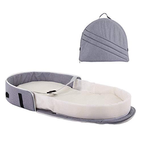 Imagen para Cuna plegable portátil Cama de bebé Cesta de viaje Mochila interior al aire libre Saco de dormir recién nacido