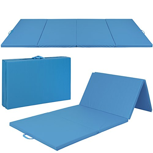 Best Choice Products 10x4ft 4-Panel Foam Folding Exercise Gym Mat