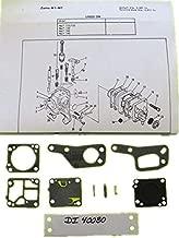 superbobi-40080 .1Zama M1M7 RB19 Carb Kit McCulloch Chain Saw Mini Mac 110 120 130 140 Carb NEW