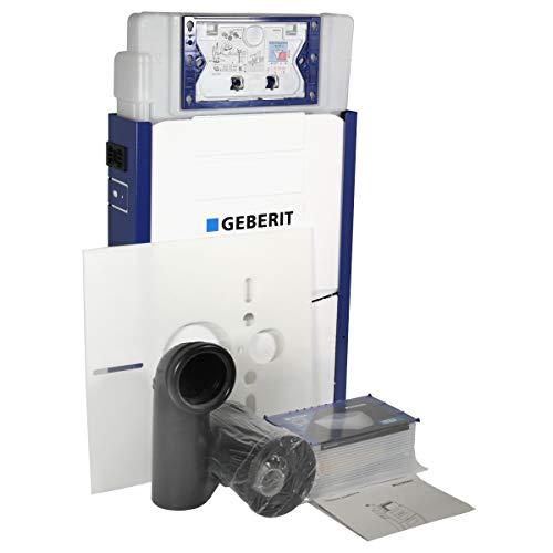 Geberit Wandeinbau-Spülkasten UP320 Kombifix, Breite 420 mm, Bauhöhe 760 mm, 2-Mengen-Spülung, 1 Stück, GEB110300005