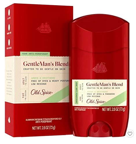 Old Spice Antiperspirant & Deodorant Amber & Driftwood - 2.6oz
