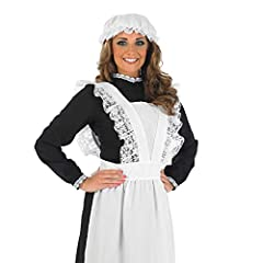 Fun Shack Womens Victorian Maid Costume Adults Book Day Historical Servant Dress Uniform - Medium #1