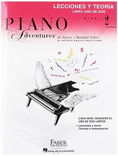 Libro de lecciones y teoría, nivel 2, edición en español, volumen 1: Spanish Edition Level 2 Lesson & Theory Book (Piano Adventures)
