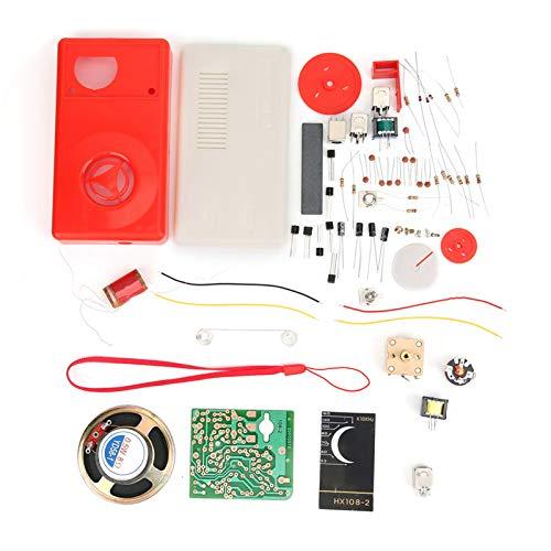 Piezas de radio, equipo de aprendizaje electrónico duradero, estable, seguro, confiable, radio de prueba de Ic, hogar para la industria