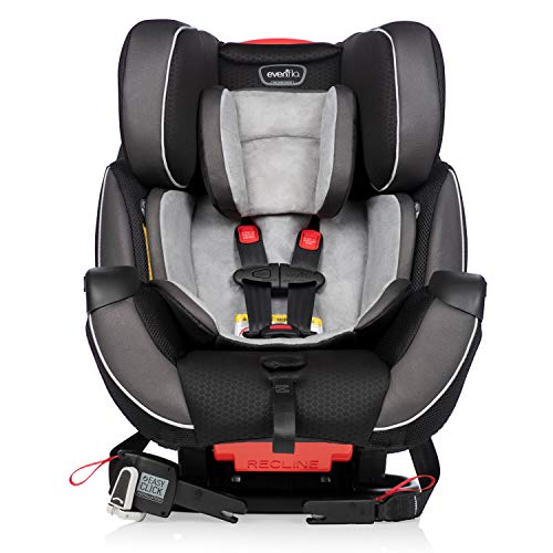 Evenflo Symphony DLX All-in-One Convertible Car Seat, Paramount,...