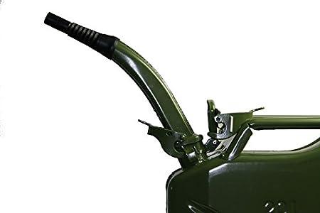 IWH 073854Boquilla para Acero 175528–Bidón de Gasolina 5, 1020litros, Color Verde
