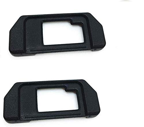 EP-10 - Ocular de repuesto para Olympus OM-D E-M10/E-M5 Mark I (2 unidades), color plateado y negro