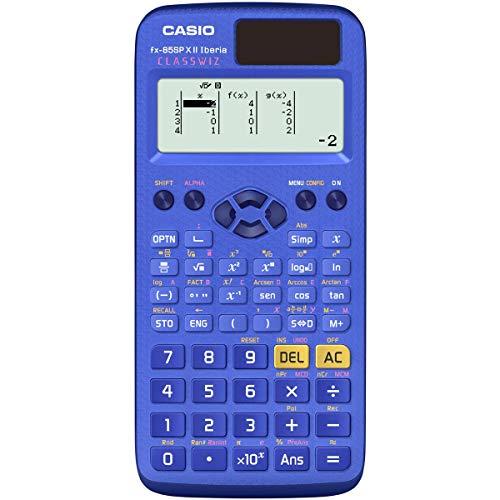Casio FX-85SPXII – wissenschaftlicher Taschenrechner, blau, spanische Edition