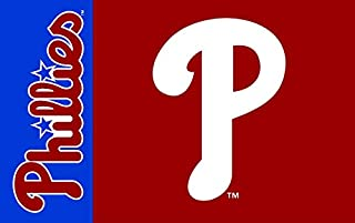 Nine Culture Championship Flag - Fan Team Banners Sewn 3x5 Foot World Series Champions Outdoor Banner (Philadelphia Phillies)