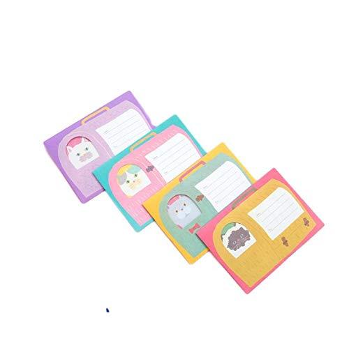 レターセット猫メッセージ4 (猫4セット) メッセージカード レターセット お祝い 招待状 手作り ペーパーアイテム 披露宴 サンキュー ありがとう 誕生日 バースデー グリーディング 感謝カード お祝いカード お礼ード 結婚式カード