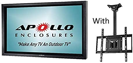 Apollo Outdoor TV Enclosure for 46-50