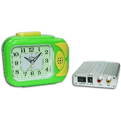 SATYCON Reloj Despertador Camara Oculta VIGILANCIA