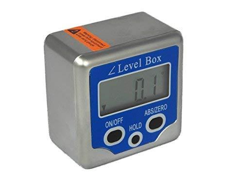 Digitale Winkellehre/Winkelmesser/Neigungsmesser/Bevel Box plus Ledertasche und Batterien