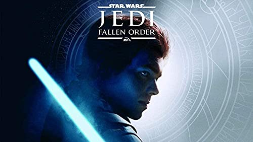 NSRJDSYT Puzzles 1000 Piezas para Adultos Star Wars Jedi Fallen Order Jigsaw Puzzle Obra de Arte Puzzle de Papel (38x26cm)