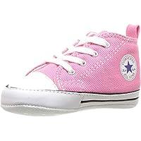 Converse CT First Star Toile, Botines de Lona Bebé-Niños, Rosa (Pink), 19 EU
