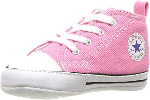 Converse First Star Toile, Unisex Kinder Sneaker, Rose, 20 EU