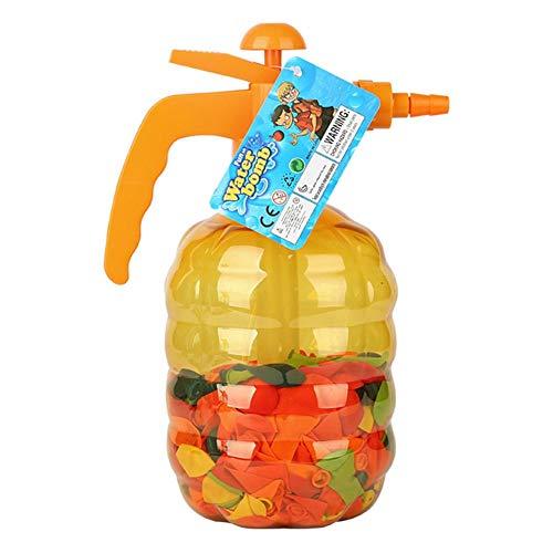 Juego de 500 globos de agua y bombas, para niños, para niños y niñas, para batallas de agua
