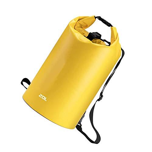 Wasserdichter Trockensack, 20 l, PVC, Roll-Top, Camping, Wandern, Kajakfahren