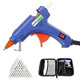 Pistola de Silicona, Dweyka Mini Pistola de Pegamento 20W, viene una Bolsa y 75 Psc Barras para Manualidades DIY, Arte, Reparaciones, decoración del Festival