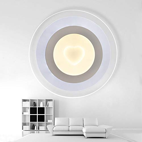 De enige goede kwaliteit Decoratie Wit Ultra-dunne Plafond Lamp Acryl Moderne Minimalistische Wandlamp Led Plafond Lamp D63CM