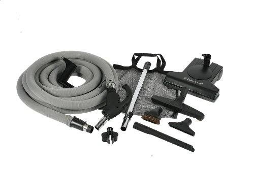 Best Review Of Cen-Tec Systems Turbocat Central Vacuum Kit with Universal Connect Hose