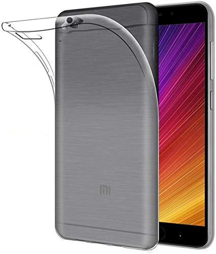 X-Dision Custodia Trasparente per Xiaomi Mi 5S, Assorbimento degli Urti Slim Flessibile Guscio in Silicone TPU, Custodia Superiore Leggera e AntiGraffio Economica e Pratica