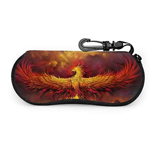 Gafas de sol caso caso de gafas con clip de cinturón Fénix Burning Red Sky Zip Ultra Light Gafas bolsa