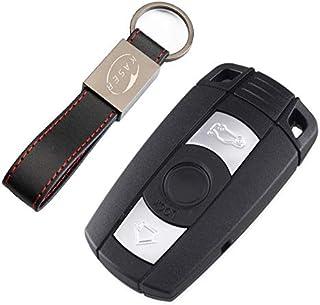 Schlüssel Gehäuse Fernbedienung für BMW Autoschlüssel Funkschlüssel 2 Tasten Series 1 2 3 Z3 Z4 X3 X5 M5 325i E38 E39 E46 (Keyless)