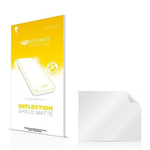 upscreen Reflection Shield Matte Displayschutz Schutzfolie für Targa Visionary LCD 17-6 (matt - entspiegelt, hoher Kratzschutz)