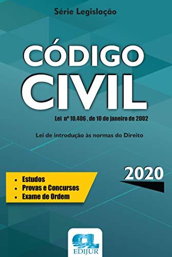 Código Civil - Série Legislação 2020