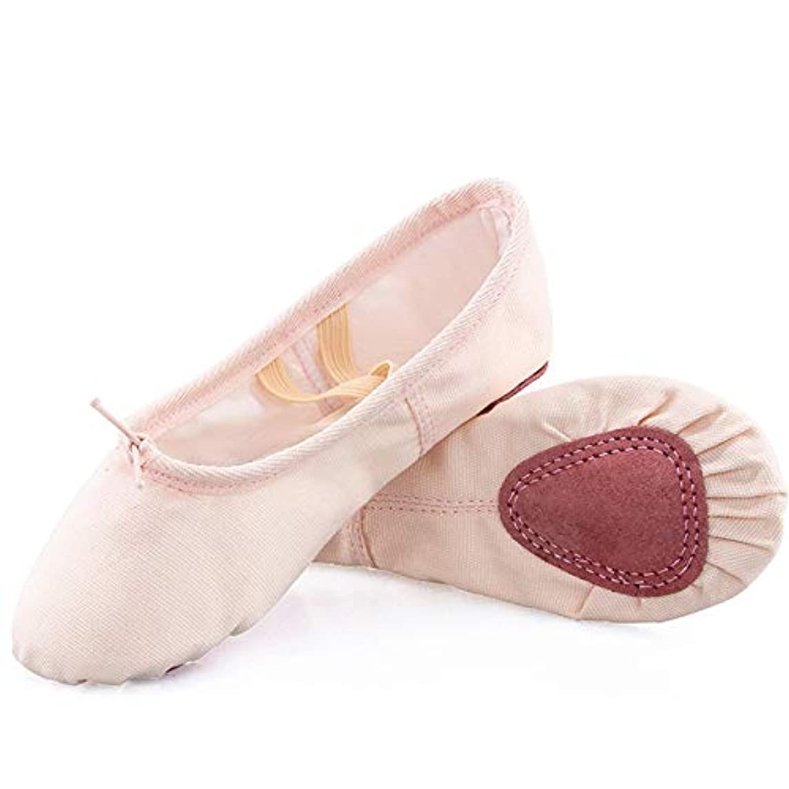 Koolen Ballet Shoes, Canvas Upper & Leather Sole Ballet Slippers, Ballet Dance Shoes for Girls (Toddler/Little Kid/Big Kid/Women)