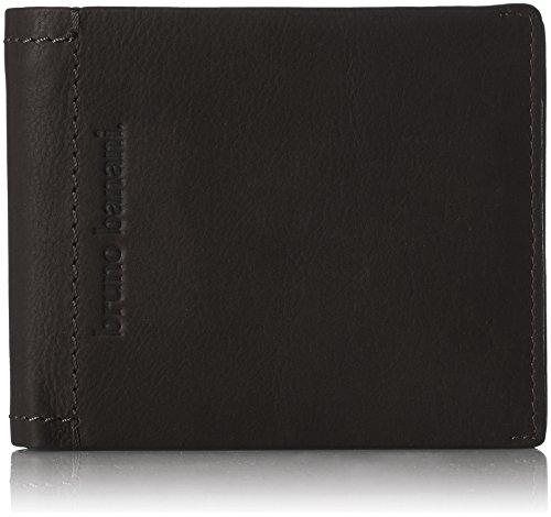 bruno banani Unisex-Erwachsene Arizona_2 Brieftasche, Noir (Schwarz), 2x9x12 cm
