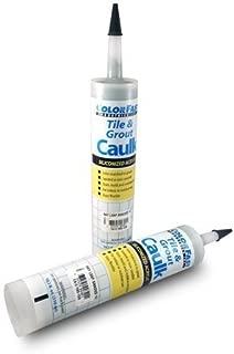 Colorfast Tile & Grout Acrylic Latex Non Sanded 10.3 oz Caulk Mapei Color Match (Timberwolf)