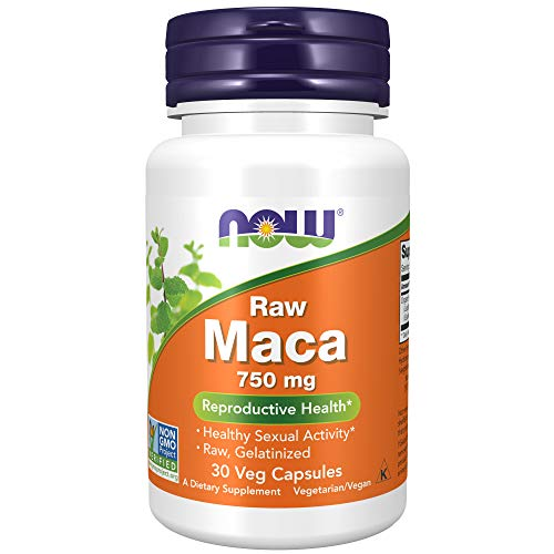 Now Foods Maca 6: 1 Concentrado 750 mg RAW 30 Unidades 50 g