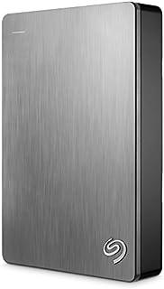 Seagate 希捷 Backup Plus 5TB便携式外置高速移动硬盘USB 3.0 银色(STDR5000101)