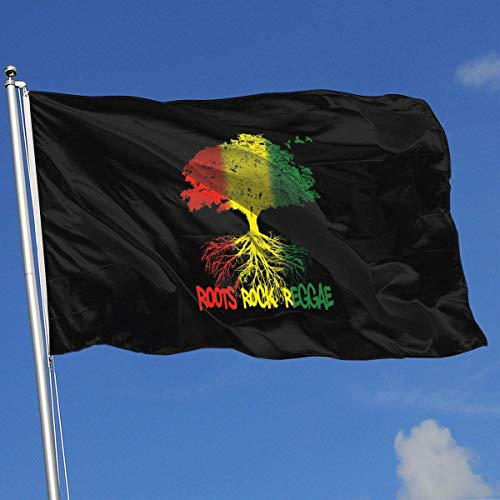 Xhayo Flagge/Fahne,Endless Summer of Roots Reggae! 3x5 Foot Home Garden Decor Flag