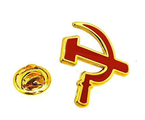 Gemelolandia Pin Solapa Símbolo Comunista Hoz Martillo