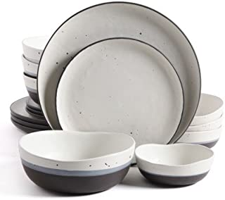 GIBSON ELITE RHINEBECK 16PC DOUBLE BOWL