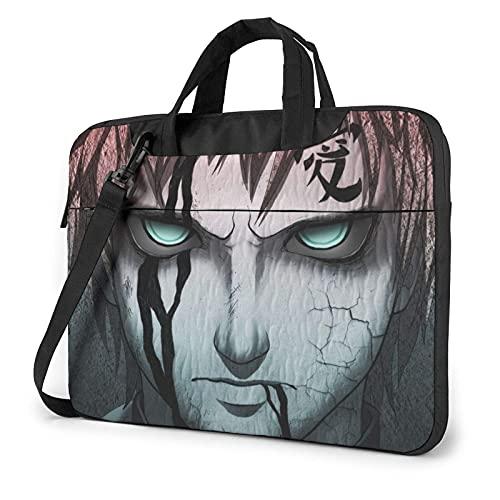 Japan Anime Laptop Bag 13 14 15.6 Inch Briefcase Shoulder Menger Bag Shoproof Carrying Case with Organizer for Men Women, Busin Travel