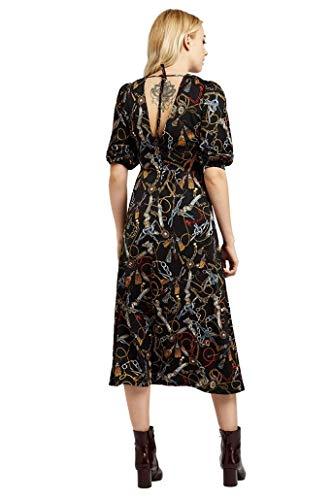 Louche Riley - Vestido con estampado de cadena