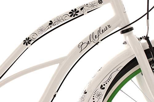 "KS Cycling Beachcruiser Damenfahrrad 26"" Bellefleur 6Gänge RH40cm - 4"