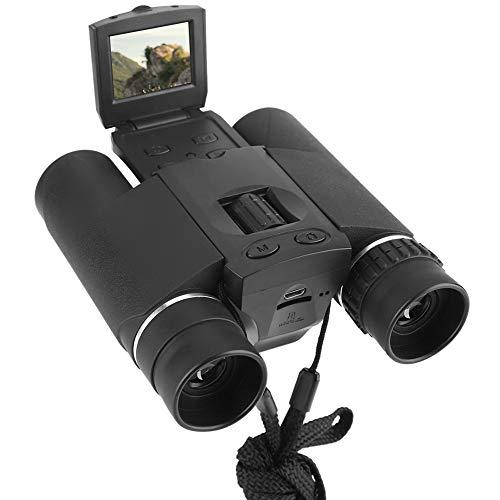 Binoculares de cámara Digital, telescopio con cámara Digital LCD 10X25 HD de 1.5 pupara LGadas Binoculares con Zoom con función de grabación