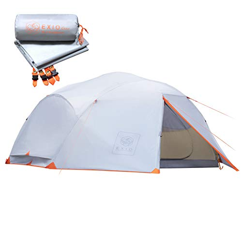 EXIO 4 Person 3.5 Season Backpacking Tent.